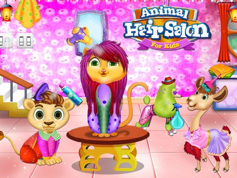 Animal Hair Salon For Kids